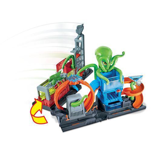 Hot Wheels Color Reveal Πλυντήριο Με Χταπόδι Hot Wheels Αγόρι 5-7 ετών, 7-12 ετών Hot Wheels