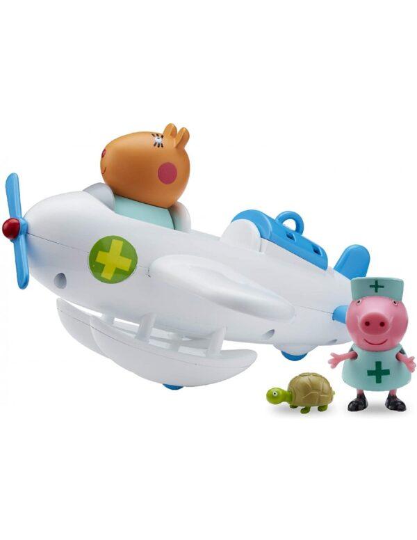 Peppa Pig Το Αεροπλάνο Κτηνιατρείο Του Δόκτορα Χάμστερ PPC96000 Peppa Pig Αγόρι, Κορίτσι  Peppa Pig