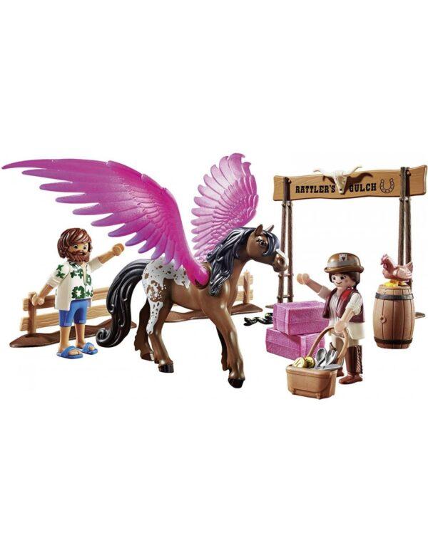 Playmobil  Playmobil The Movie Η Μάρλα και ο Ντελ στην Άγρια Δύση 70074 Αγόρι, Κορίτσι 4-5 ετών, 5-7 ετών, 7-12 ετών