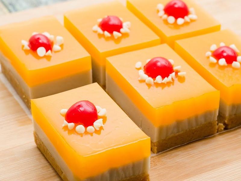 Orange Biscuit Cake