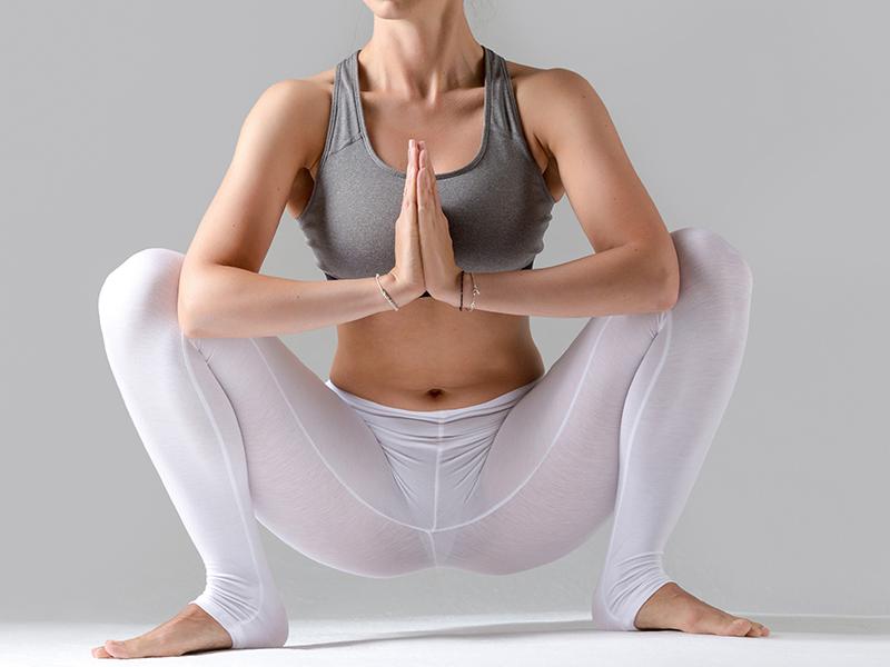 Garland Pose For Hormonal Imbalance