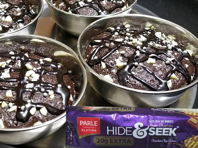 Hide And Seek Biscuit Cake