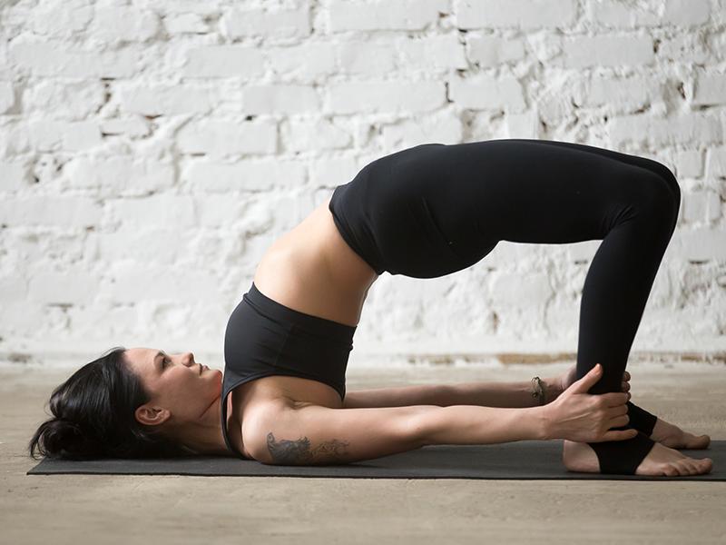 Bridge Pose For Hormonal Imbalance