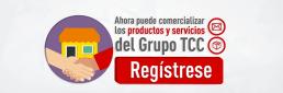 comercializa productos y servicios