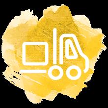 montacargas sostenible con logistica tcc