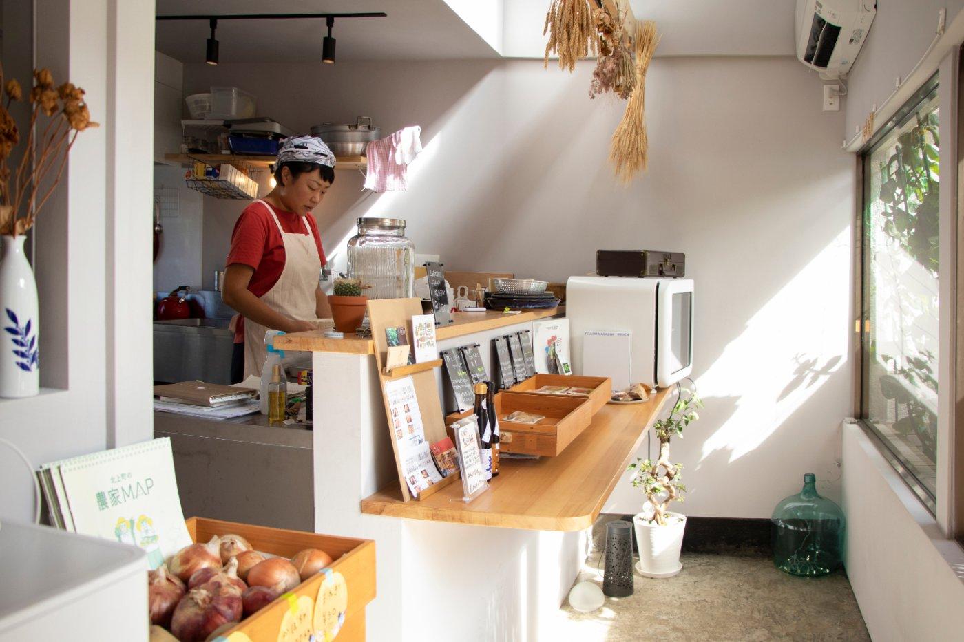 お惣菜店「SONO」(ワークスペース1階)