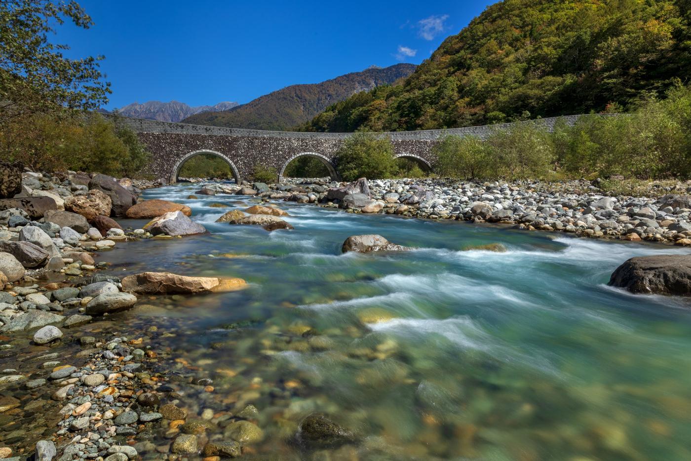 奥飛騨の自然も是非楽しんでください
