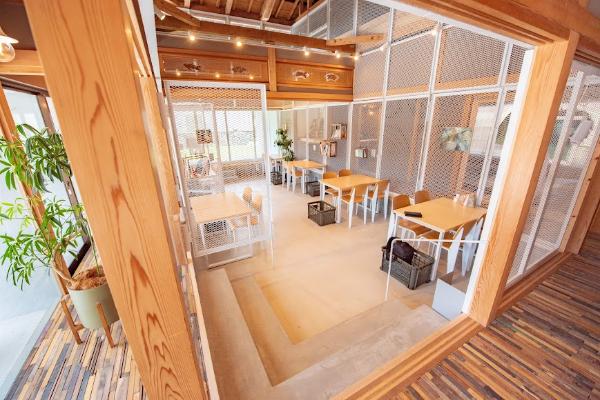 食事やお仕事に利用できるフリースペース【ウズシオ】
