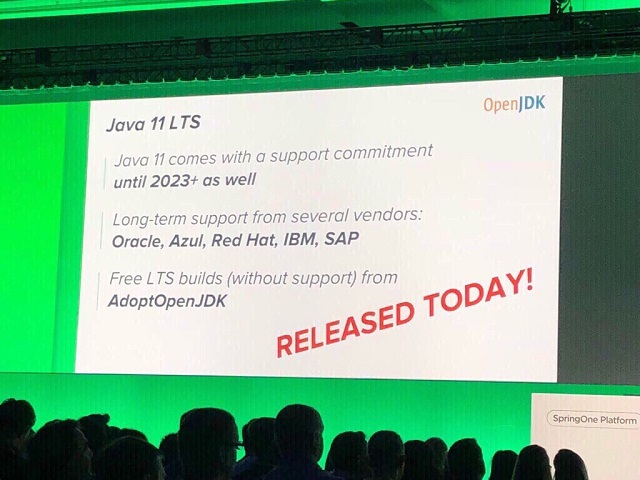 Java 11 LTS release!!
