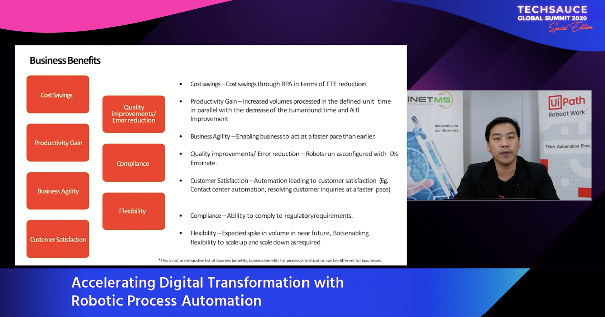 Accelerating Digital Transformation with Robotic Process Automation