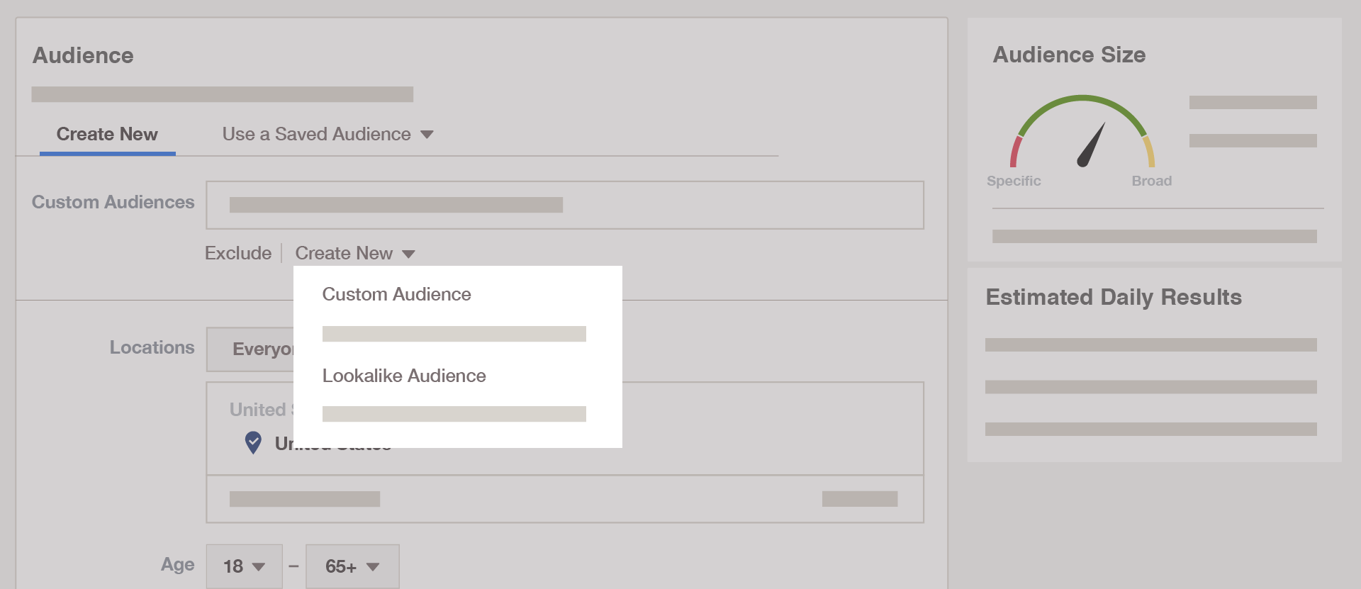 การสร้าง Custom Audience และ Lookalike Audience ใน Facebook Ads Manager