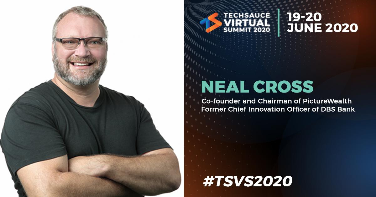 พบกับ Neal Cross ได้ที่ Techsauce Virtual Summit 2020