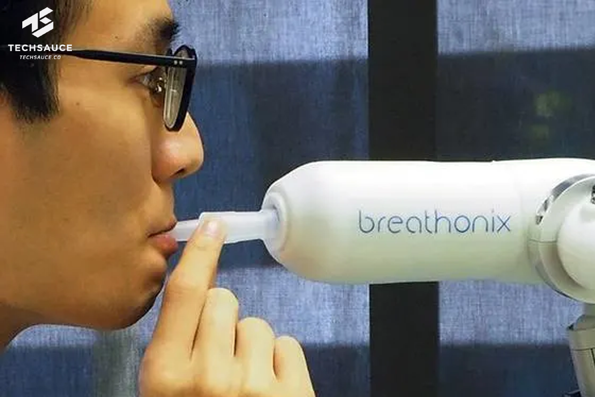 The BreFence Go COVID-19 breath test system