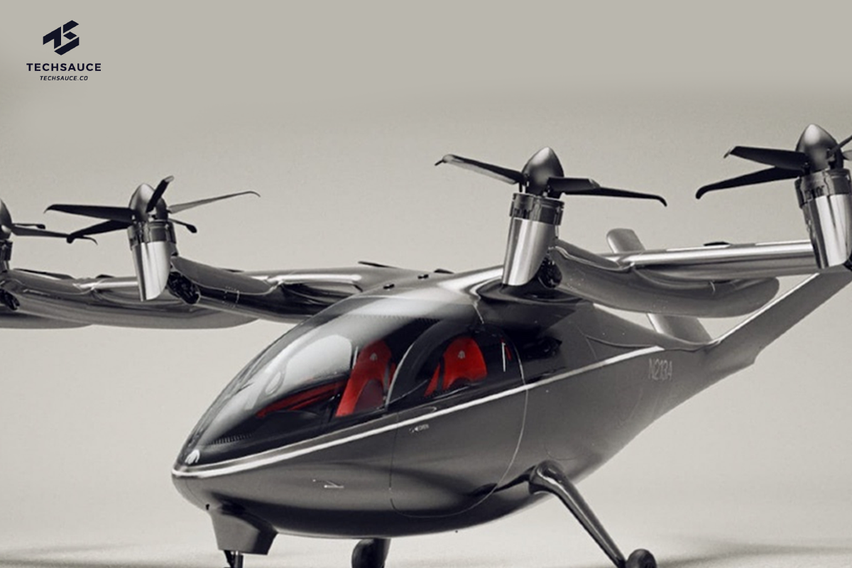Archer Aviation flying taxi
