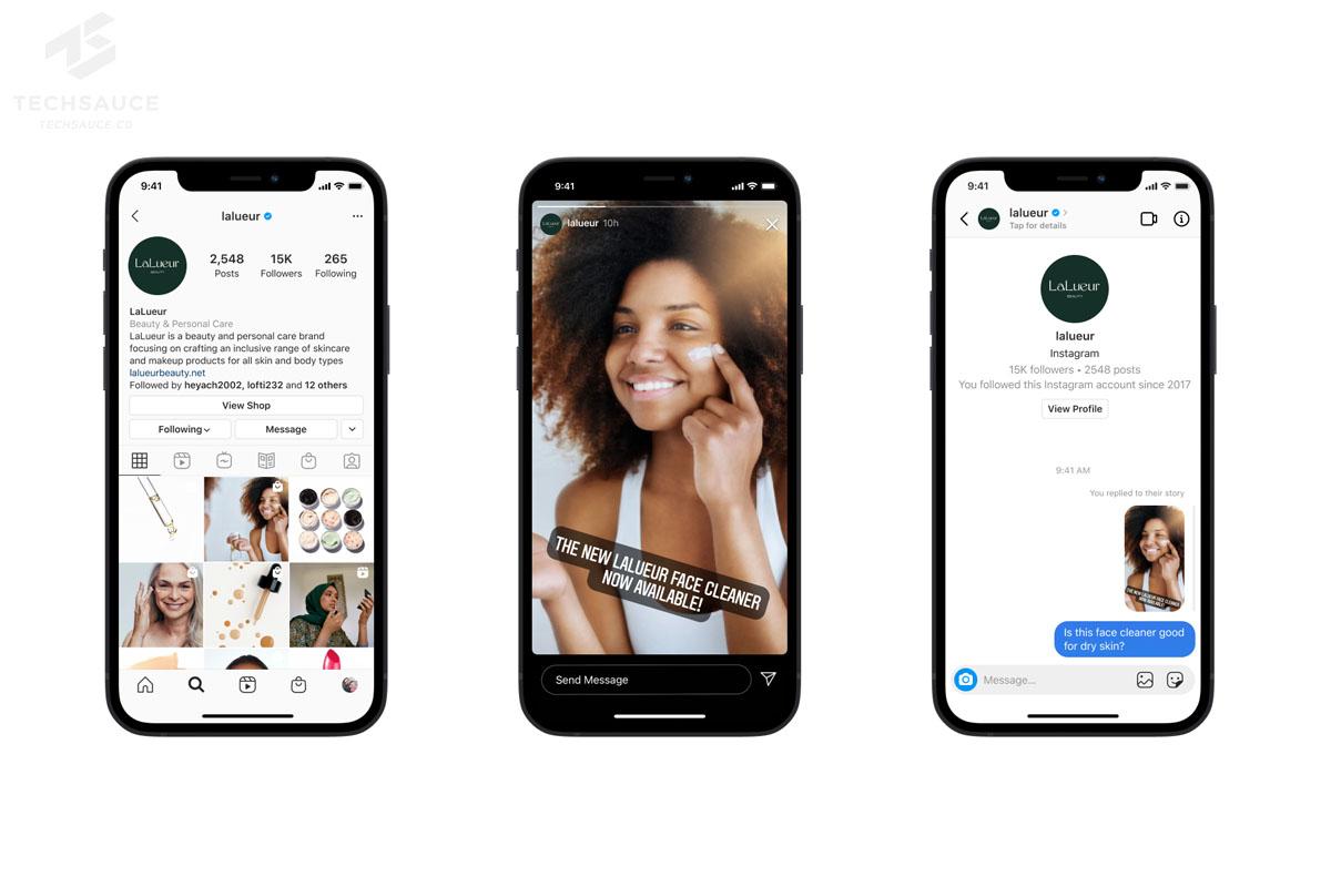 Facebook เปิดตัว Messenger API สำหรับ Instagram