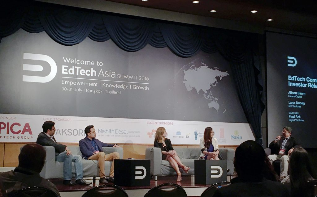 EdTech Company Valuations and Investor Relations Panel