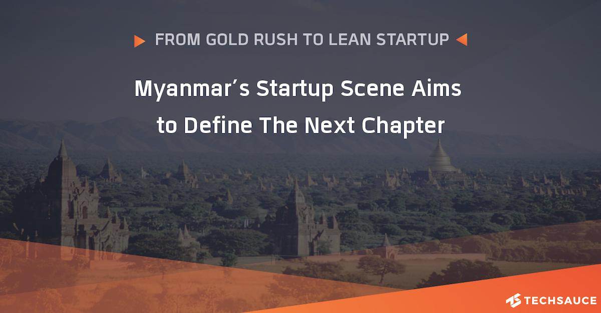 myanmar startup scene