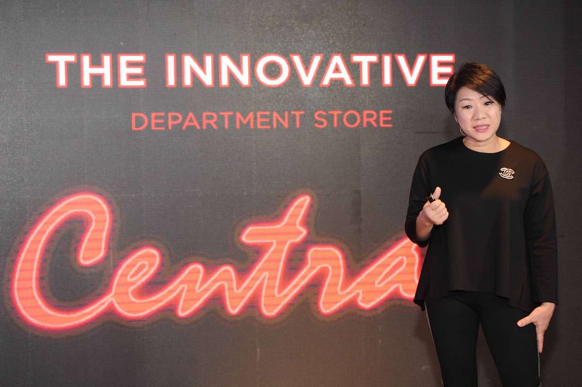 central to be innovative department store