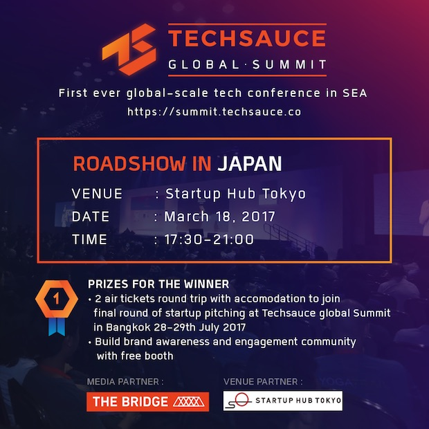 techsauce-summit-2017-roadshow-in-japan-badge