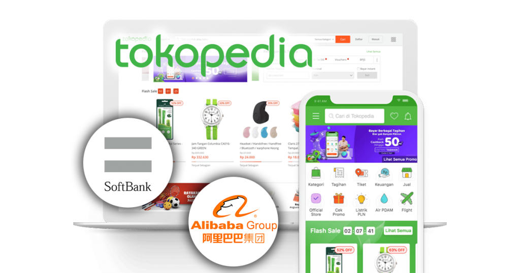Tokopedia SoftBank Alibaba