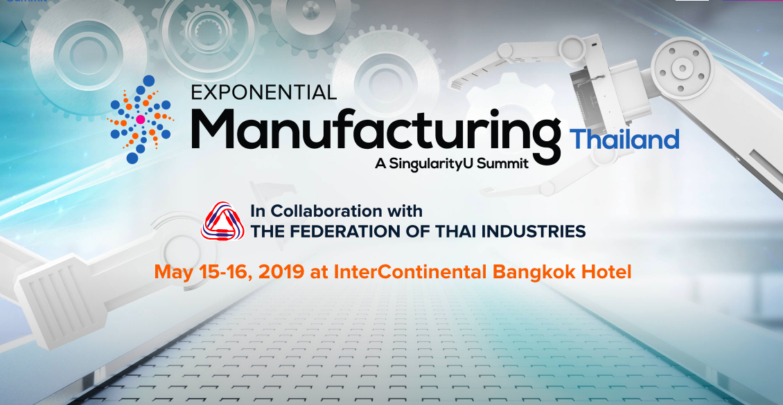Exponential Manufacturing Thailand 2019