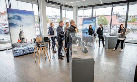 Bild från möte på Saab Kockums