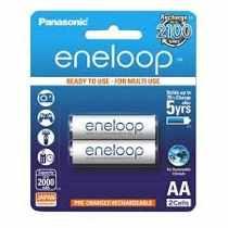 Pilas Panasonic Eneloop AA (Blister x 2)