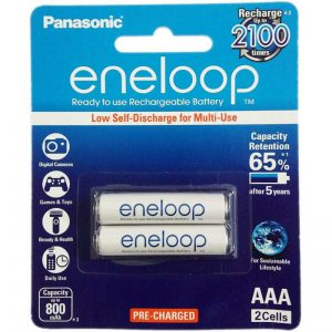 Pilas Panasonic Eneloop AAA Blister x 2