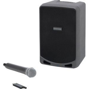 Sistema Portable con Microfono Inalambrico Samson XP106W