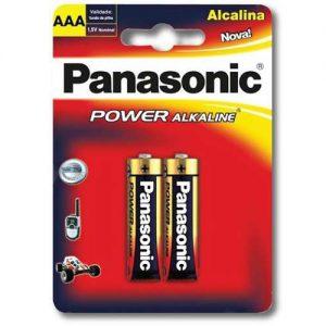 Pila Panasonic Alcalina AAA (X2)