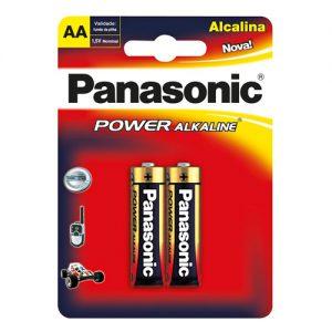 Pila Panasonic Alcalina AA (X2)