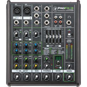 Consola Mezclador Mackie Profx4v2