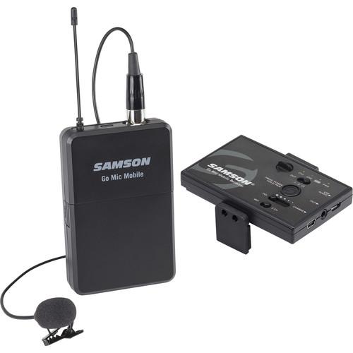 Sistema De Microfono Inalambrico P/ Celulares Samson Gmmslav