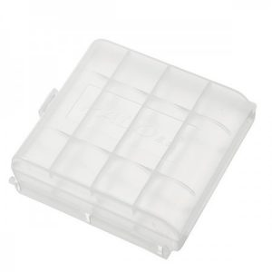 pola-plastic-transparent-white-4pcs-aa-aaa-battery-case-holder-storage-box