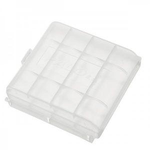 pola-plastic-transparent-white-4pcs-aa-aaa-battery-case-holder-storage-box