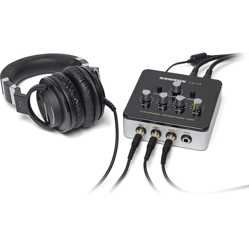 Amplificador de auriculares Samson QH4