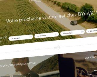 Asdoria Web Agency réalise les sites du groupe concessionnaire Bymy)car