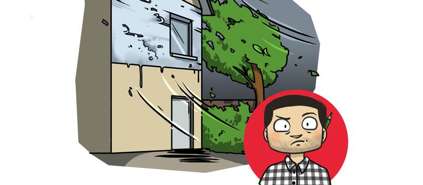Protection des matériaux contre le froid et l'humidité sur le chantier