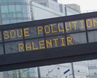Pic de pollution : quelle limite de vitesse ?