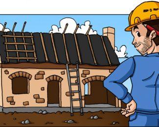 Chantier d'une maison : les étapes de construction d'une toiture