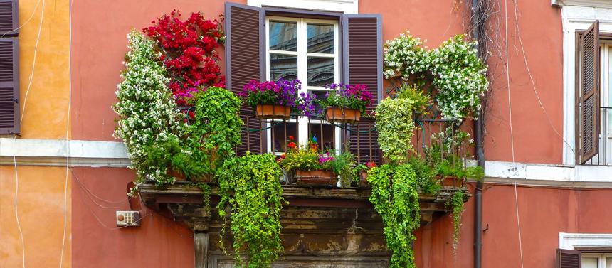 Comment aménager un balcon en enfilade ?