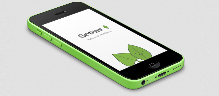 Groww, l'application qui change la vie des jardiniers !