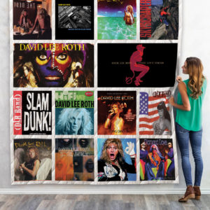 David Lee Roth Albums Quilt Blanket For Fans Teecago