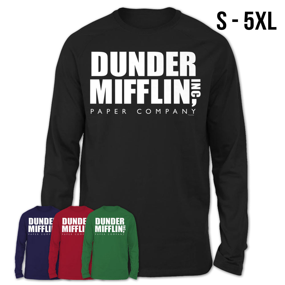 The Office Dunder Mifflin Long Sleeve