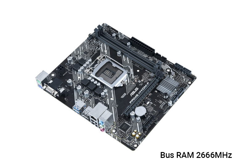 Mainboard Asus H410M-F | Bus RAM 2666MHz
