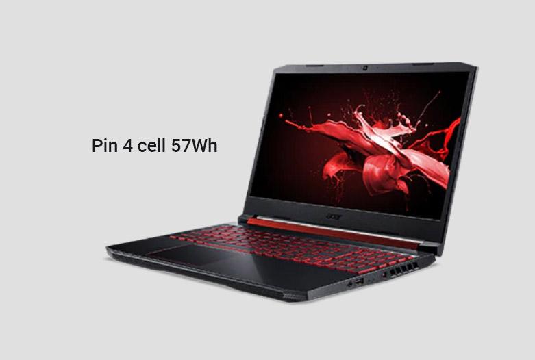 Laptop Acer Nitro 5 AN515-45-R9SC | Pin 4 cell 57Wh