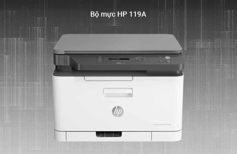 Máy in HP Color Laser MFP 178nw - 4ZB96A | Bộ mực HP 119A