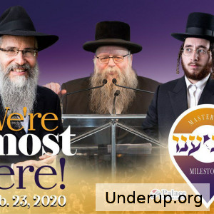 We're almost there!   Montreal Is Ready For Yaldei Diner 2020 - Ft. Avraham Fried, A Team, Zimra Choir, Yoely Braun, Sheurim & More!   https://youtu.be/h3_khuT7xGY