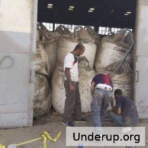 Lebanon - Apparant storage of Ammonium Nitrate months before the explosion.