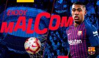 «Барселона» перехватила Малкома у «Ромы»